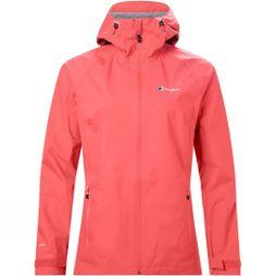 Berghaus Womens Deluge Pro Shell Jacket Aura Orange