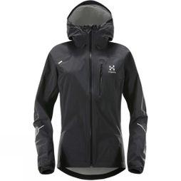 Haglofs Womens L.I.M Jacket True Black