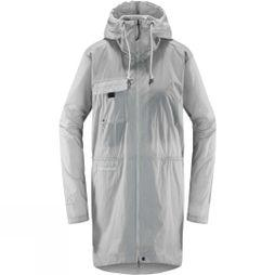 Haglofs Womens Särna Shield Parka Stone Grey