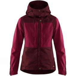 Fjallraven Womens Keb Jacket Dark Garnet / Plum