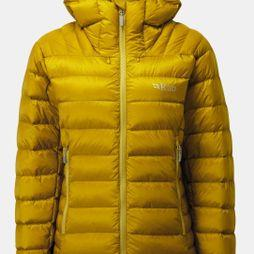 Rab Women's Electron 800 Down Jacket Dark Sulphur