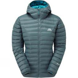 Mountain Equipment Womens Arete Hooded Jacket Moorland Slate