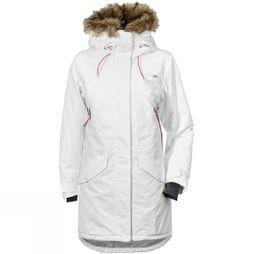 Didriksons Womens Celine Parka Factory White