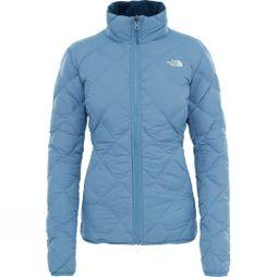 The North Face Womens Zip-In Reversible Down Jacket Provincial Blue