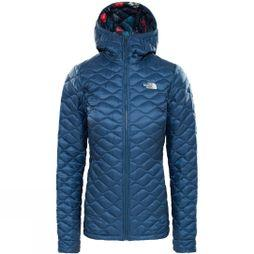 The North Face Womens Thermoball Hoodie Blue Wing Teal/Joshua Tree Print