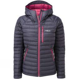 Rab Womens Microlight Alpine Jacket 2018 Steel/Tayberry