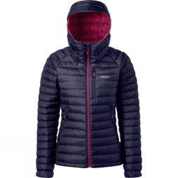 Rab Womens Microlight Alpine Jacket Deep Ink/Peony