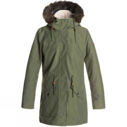 Roxy Roxy Womens Amy 3N1 Jacket Four Leaf Clover