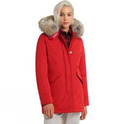 Woolrich Womens Luxury Arctic Jacket Red French Kiss
