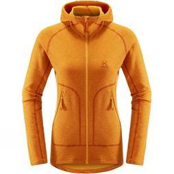 Haglofs Womens Heron Hooded Jacket Desert Yellow