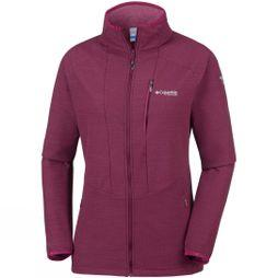Columbia Womens Titan Trekker Full Zip Wine Berry, Deep Madeira Heather