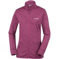 Columbia Womens Pine Hollow Full Zip Fleece Wine Berry