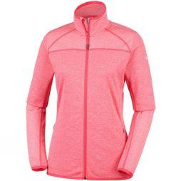 Columbia Columb Baker Valley Full Zip Fleece Red Coral, Coral Bloom