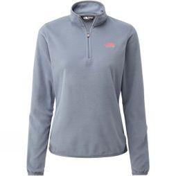 The North Face Women's Cornice 1/4 Zip Fleece Grisaille Grey