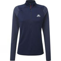 Mountain Equipment Womens Eclipse Zip Tee Cosmos