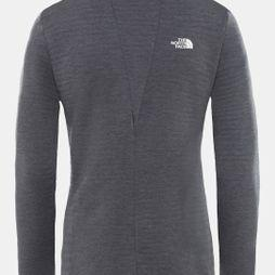 The North Face Womens Impendor Light Midlayer Fleece Vanadis Grey Dark Heather