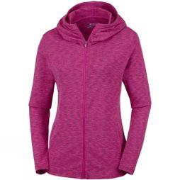 Columbia Womens OuterSpaced Full Zip Hoodie Haute Pink Space