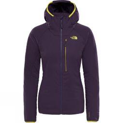 The North Face Womens Ventrix Hoodie Dark Eggplant Purple/ Acid Yellow