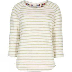 Womens Roxie Striped Crew Neck Top