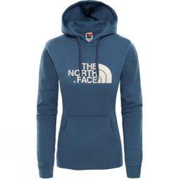 The North Face Womens Drew Peak Pullover Blue Wing Teal/ Peyote Beige