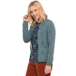 Brakeburn Womens Kite Pointelle Cardigan Light Teal