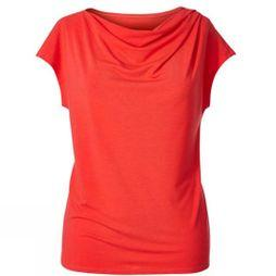 Royal Robbins Womens Essential Tencel Cowl Neck Top Flame