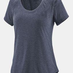 Patagonia Womens Capilene Cool Trail T-Shirt Classic Navy