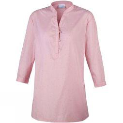 Columbia Womens Early Tide Tunic Coral Bloom Dot