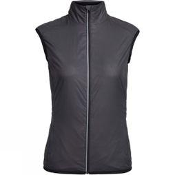 Icebreaker Womens Rush Vest Black/Embossed