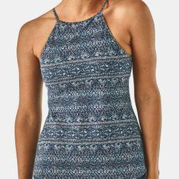 Patagonia Womens Alpine Valley Tank Top Tradewinds Small/Neo Navy