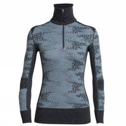 Womens Affinity Long Sleeve Half Zip Flurry