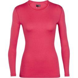Icebreaker Womens 260 Tech Long Sleeve Crew Top Prism
