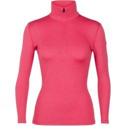 Icebreaker Womens 260 Tech Long Sleeve Half Zip Top Prism