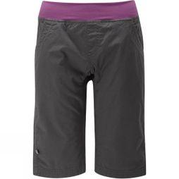 Rab Womens Crank Shorts Anthracite/Pink