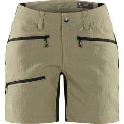 Haglofs Womens Rugged Flex Shorts Lichen  /  True Black