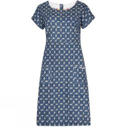 Womens Tallahassee Printed Cotton Jersey Dress