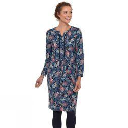 Brakeburn Women's Falling Leaf Dress Navy