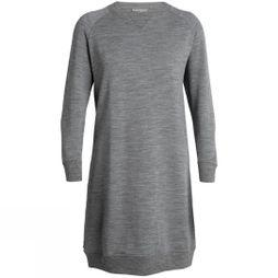 Icebreaker Lydmar Dress Gritstone Heather