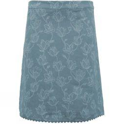 Brakeburn Womens Tulip Linen Skirt Green