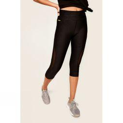 Lole Womens Run Capri Black Riga