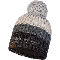 Buff Womens Alina Knitted Beanie Grey