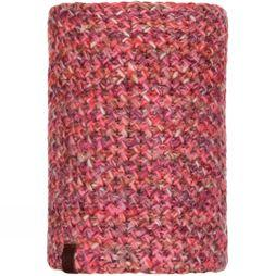Buff Womens Margo Knitted Neckwarmer Flamingo Pink