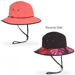 Sunday Afternoons Daydream Bucket Hat Coral Reversible