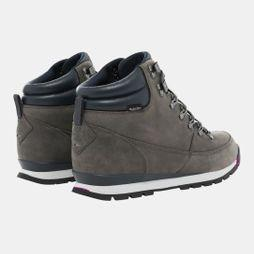 The North Face Men's Back To Berkeley Leather Boot Zinc Grey/Ebony Grey