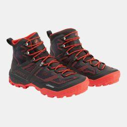 Mammut Mens Ducan High GTX Shoe Black/Dark Zion