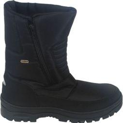 Calzat Men's Zip Traction Boot Black