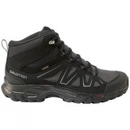 Salomon Mens Tibai GTX Mid Boot Phantom/Black/Monument