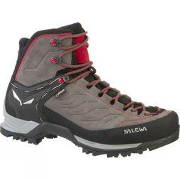 Salewa Mens Mountain Trainer Mid GTX Boot Charcoal / Papavero