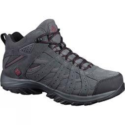 Columbia Mens Canyon Point Mid Omni-Tech Boot Dark Grey/ Madder Brown