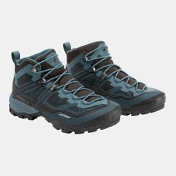 Mammut Mens Mammut Ducan Mid GTX Shoe Black/Light Poseidon
